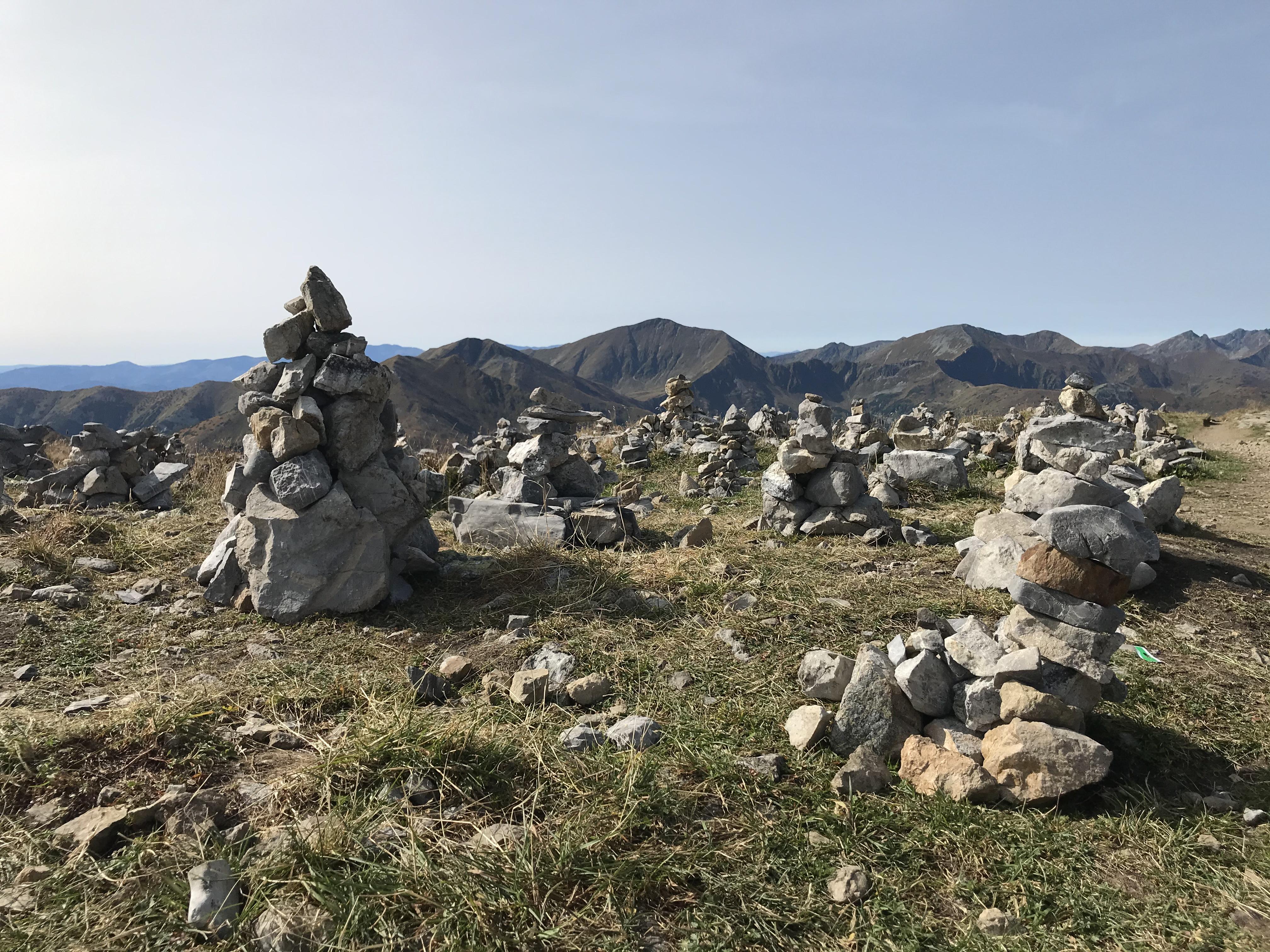Krzesanica- kamienie