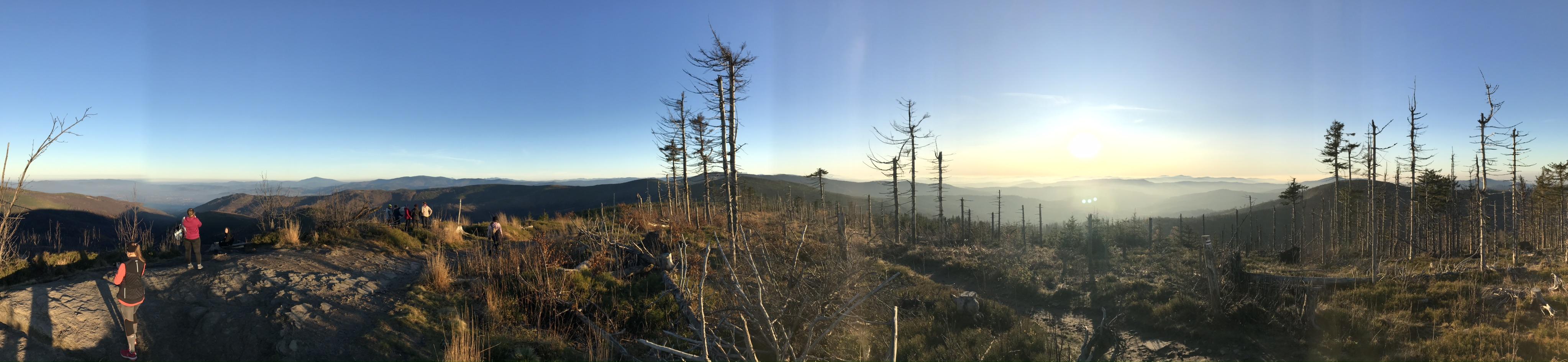 Malinowska Skała- panorama