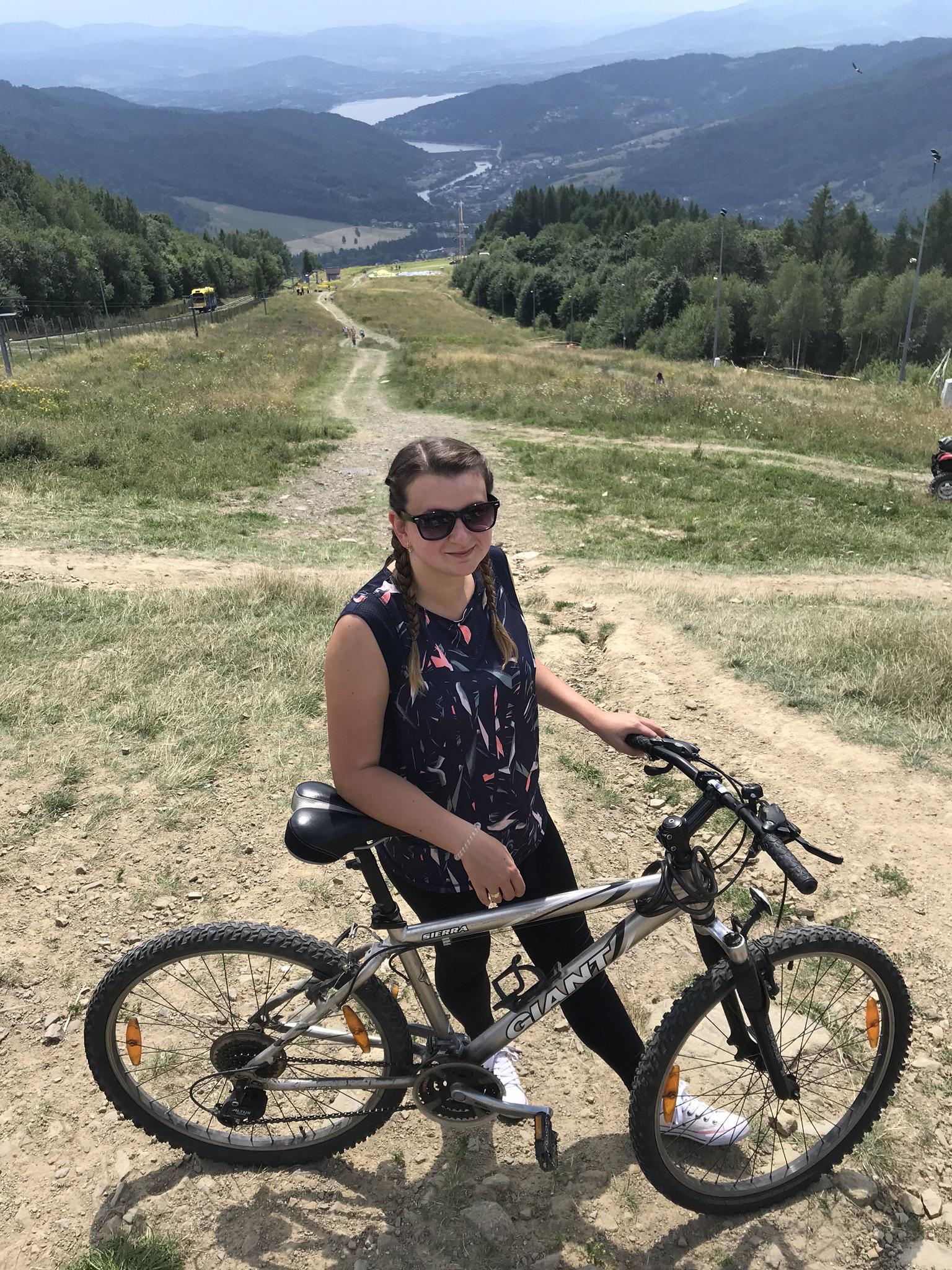 Góra Żar na rowerze